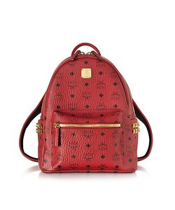 MCM   Stark Ruby Small Backpack