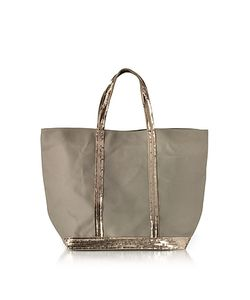 Vanessa Bruno | Les Cabas Medium Cotton And Sequins Tote