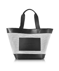 Alexander Wang | And Canvas Tote Bag W/Leather Pocket