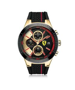 Ferrari   Redrev Evo Tone And Stainless Steel Case And Silicone