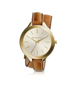 Michael Kors | Slim Runway Double-Wrap Watch