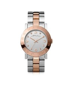 Marc by Marc Jacobs | Amy 36 Mm Two Tone Watch