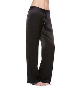 La Perla | Petit Macrame Silk Classic Trousers
