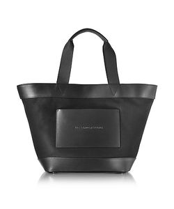 Alexander Wang | Canvas Tote Bag W/Leather Pocket