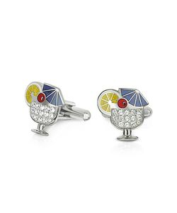 Forzieri | Fashion Garden Drink Cufflinks
