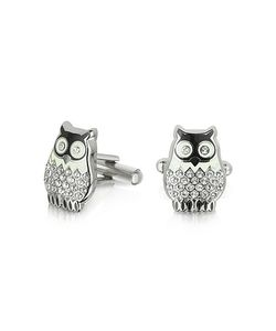 Forzieri | Fashion Garden Owl Cufflinks