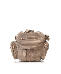 Alexander Wang | Mini Marti Latte Washed Leather Backpack