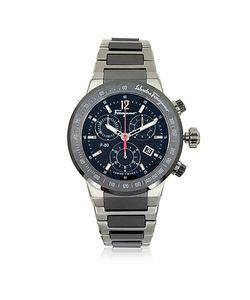 Salvatore Ferragamo   F-80 Titanium And Ceramic Watch