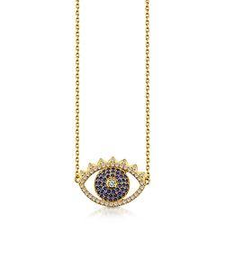 Kenzo | Sterling Eye Necklace