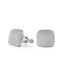 Forzieri | Evergreen Milled Square Cufflinks