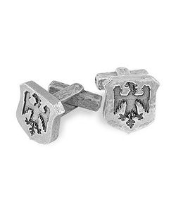 Torrini | Sterling Eagle-Crest Cufflinks