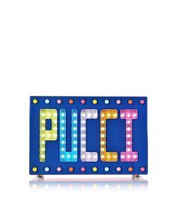Emilio Pucci   Signature Disco Clutch W/Beads And Lights