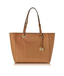 Michael Kors   Walsh Large Acorn Saffiano Leather Ew Top-Zip Tote
