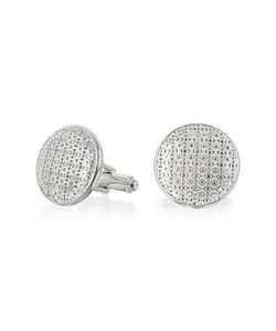 Forzieri | Evergreen Round Flower Print Cufflinks