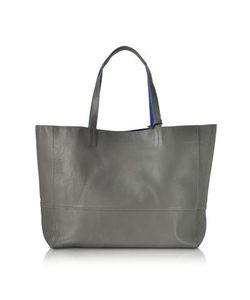 Zadig & Voltaire | And Cobalt Leather Reversible Hendrix Tote Bag