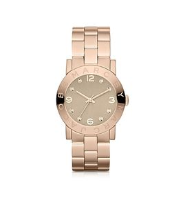 Marc by Marc Jacobs | Amy 36.5 Mm Rose Tone Watch