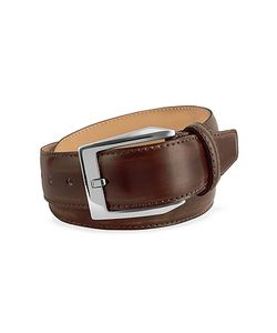 Pakerson | Coffee Hand Painted Italian Leather Belt