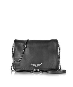 Zadig & Voltaire | Grainy Leather Rock Xl Clutch