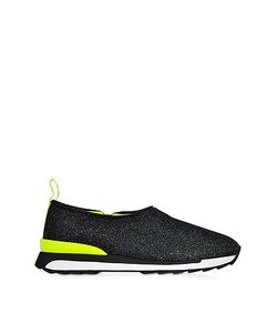 Hogan Rebel | R261 Lurex And Neon Slip-On Sneaker