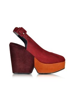 Robert Clergerie | Dylanal Color Block Wedge Sandal