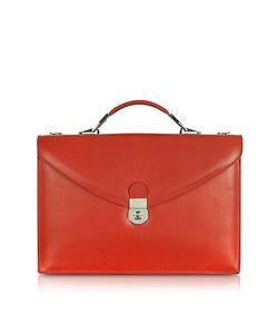 L.A.P.A. | Ruby Double Gusset Leather Briefcase