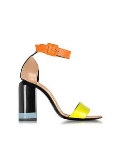 Pierre Hardy   Memphis Nude Leather Sandals