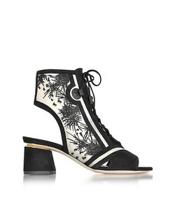 Nicholas Kirkwood | Phoenix Embroidered Lace-Up Bootie