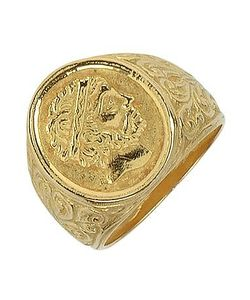 Torrini | Socrates Engraved Oval Ring
