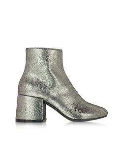 MM6 Maison Martin Margiela | Leather Ankle Boot