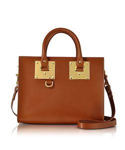 Sophie Hulme | Tan Albion Saddle Leather Medium Tote Bag