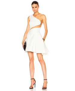 Zuhair Murad | Cady Stretch Tulle Mini Dress