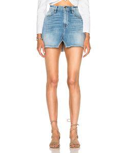 Frame Denim | Le Mini Skirt Split Front
