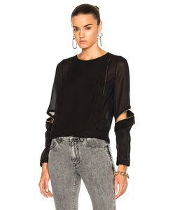3.1 Phillip Lim | Top With Ruffle And Zip Detail