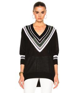 Victoria, Victoria Beckham   Oversize V Neck Sweater