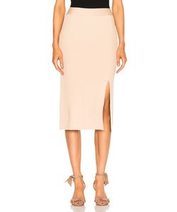 Ryan Roche | Bottom Slit Fitted Skirt