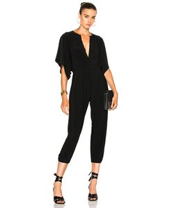 Norma Kamali | Rectangle Jog Jumpsuit