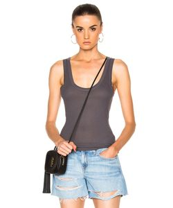 Enza Costa | Rib Fitted Bold Tank