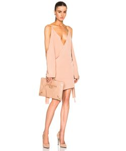 Juan Carlos Obando | Fwrd Exclusive Wrap Mini Necktie Dress