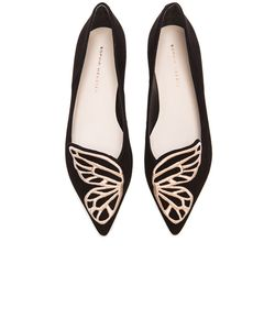 Sophia Webster | Bibi Butterfly Suede Flats