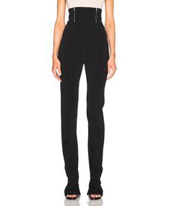 David Koma | High Waisted Zip Detail Trousers