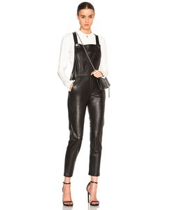 Carolina Ritzler | Carolina Ritz Leather 90 Jumpsuit