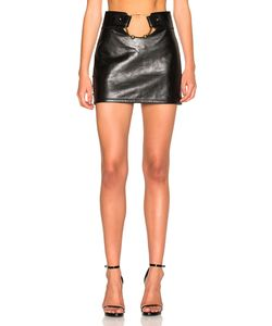 Anthony Vaccarello | Central Piercing Mini Skirt