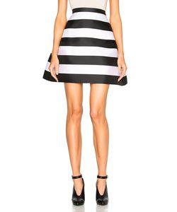 Zuhair Murad | Stripe Scuba Skirt