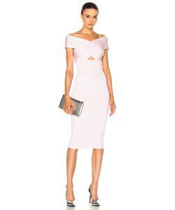 Cushnie Et Ochs   Crossover Boatneck Pencil Dress