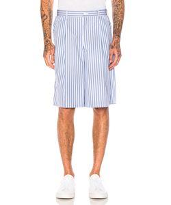 Comme Des Garçons Homme Plus | Cotton Broad Stripe Shorts