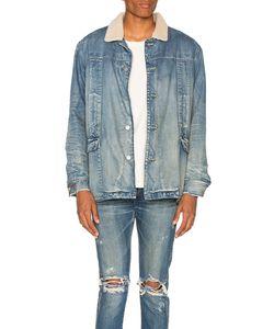 Stampd   Fleece Lined Denim Jacket In Size Also