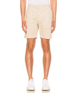 Engineered Garments | Corduroy Fatigue Shorts In Neutrals. Size Also