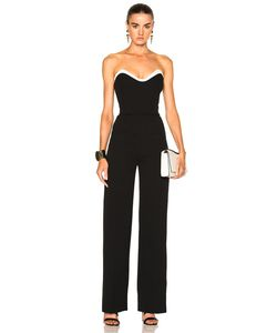 Mugler | Technical Cady Bicolor Jumpsuit