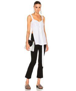 Calvin Klein Collection | Laro Dry Cotton Tailoring Top