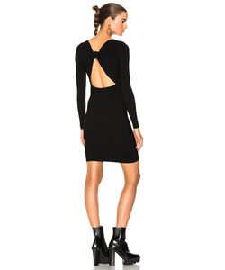 Helmut Lang | Tie Back Dress In Size Also